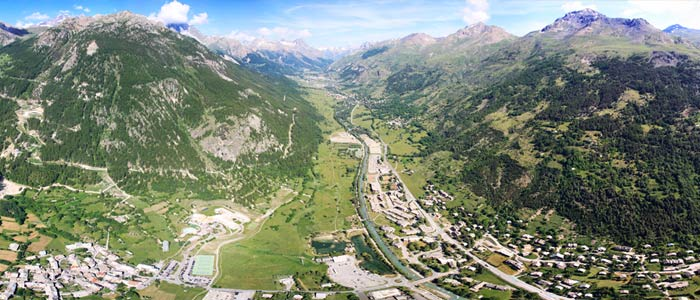 The Guisane vallée at Serre Chevalier