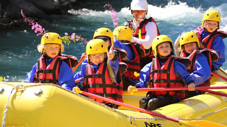 white water Rafting discovery Briançon