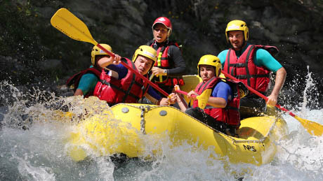 white water Rafting Sporty